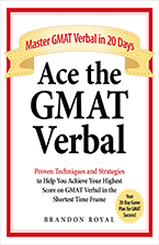 Front Cover of Ace the GMAT Verbal by Brandon Royal