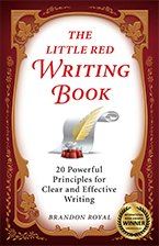 Front cover of The Little Red Writing Book by Brandon Royal