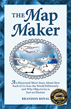 Front Cover of The Map Maker by Brandon Royal