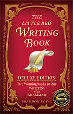 Front Cover of The Little Red Writing Book Deluxe Edition by Brandon Royal